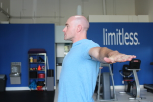 Pronated Horizontal Shoulder Abduction (lateral view) (2)
